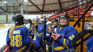 20160319 Sabrettes Hockey