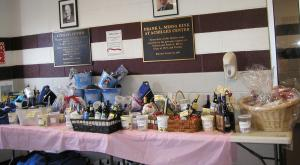 2015 Raffle Table